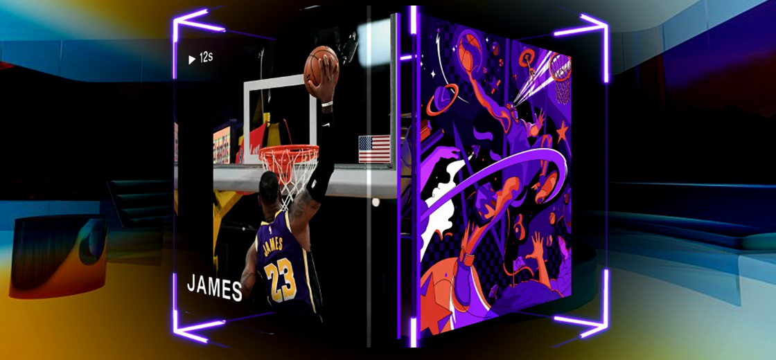 NFT Studio House of Kibaa Announced LeBron James NBA Top Shot Auction