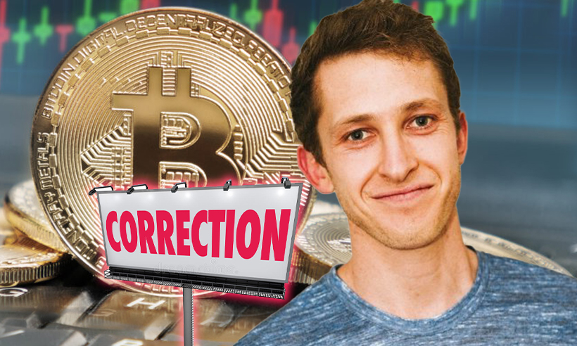 Alex Kruger Issues a Warning About a Possible Bitcoin Correction