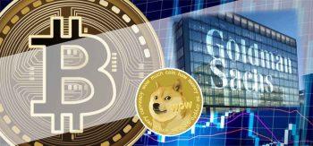Bitcoin Still Risky To Invest, Says Goldman Sachs Equating DOGE to BTC