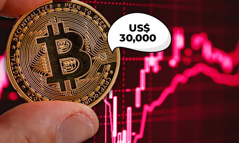 Bitcoin Plummets Below $30,000 Support As China Vows Crackdown
