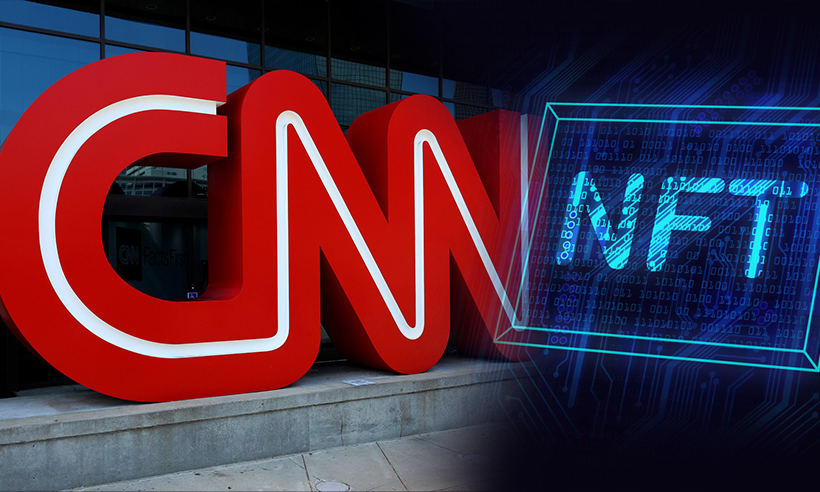 """CNN Launches """"Vault"""" to Sell NFTs of Historic News Moments"""