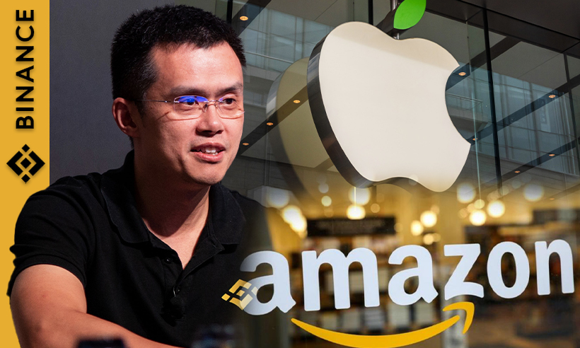 Binance CEO sayss BNB has the Potential to Surpass Apple and Amazon