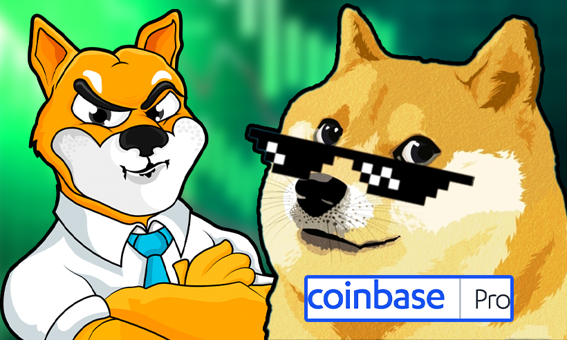 Coinbase Pro to List Dogecoin Rival Shiba Inu, Token Gains 33% in Price