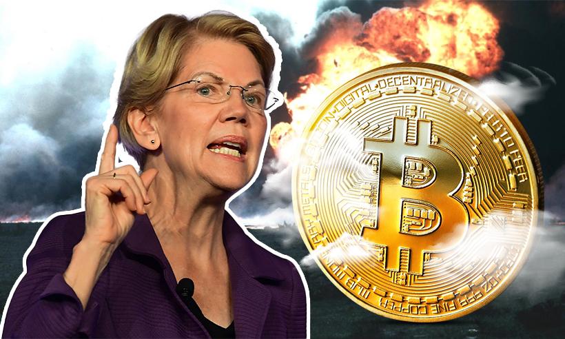 Elizabeth Warren Calls for Crypto Regulation, Cites Environmental Concerns