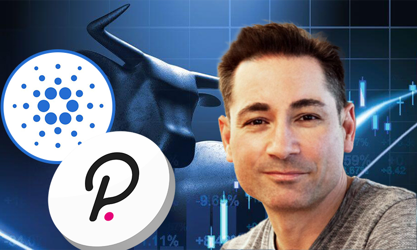 Ethereum Co-Founder Anthony Di Iorio is Bullish on Cardano and Polkadot