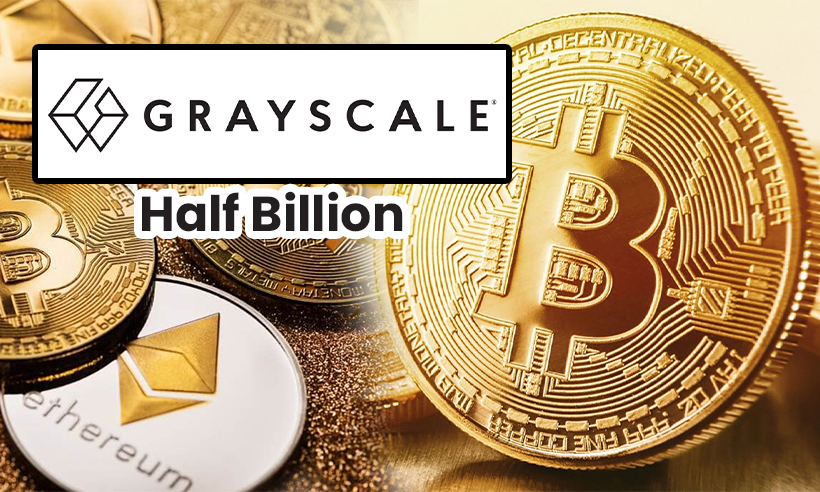 Grayscale Deposits Half a Billion in Bitcoin and Other Crypto in a Single Day