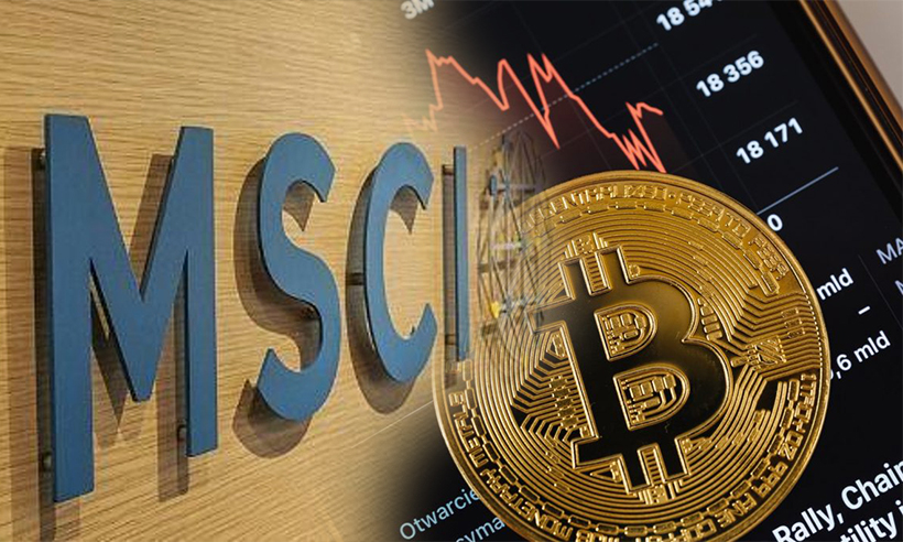 Index Publisher MSCI Considers Launching Crypto Indexes