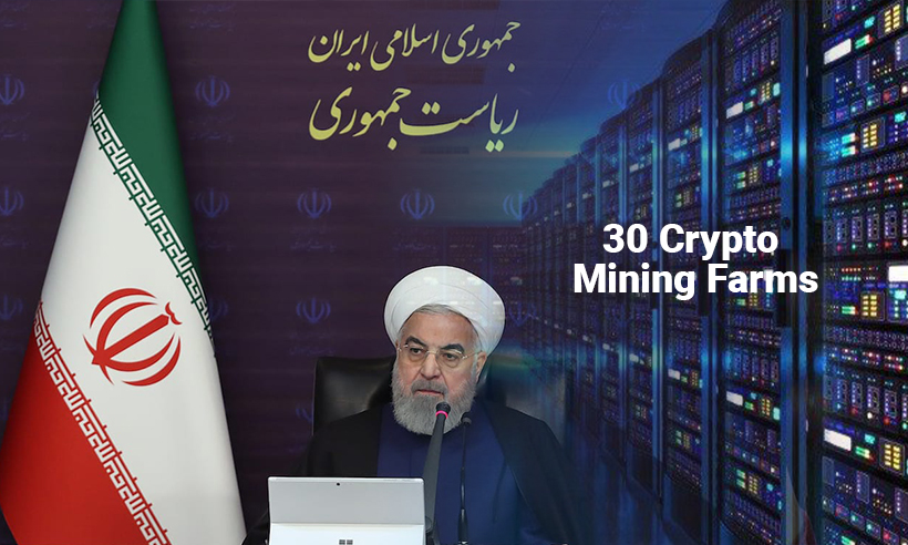 Iranian Government Issues Licenses to 30 Crypto Mining Farms