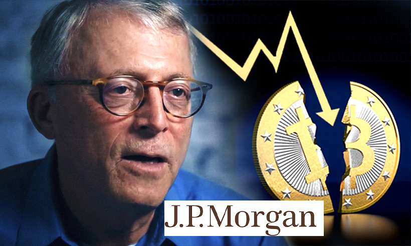 Bitcoin Price to Fall Further by 50% According to Peter Brandt and JPMorgan