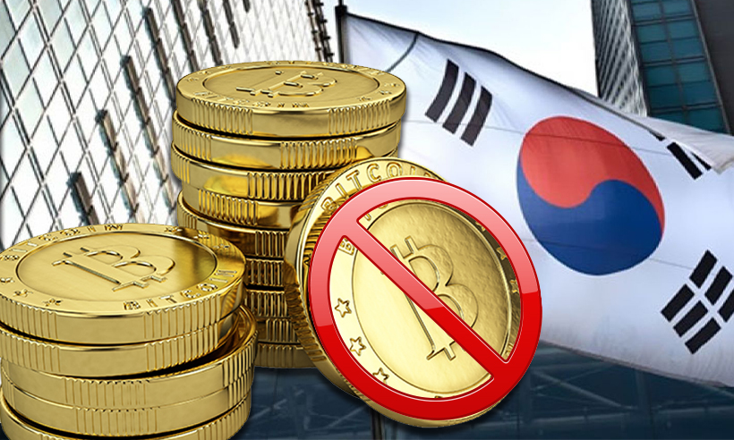 Crypto Exchanges in South Korea to be Banned from Executing Transactions