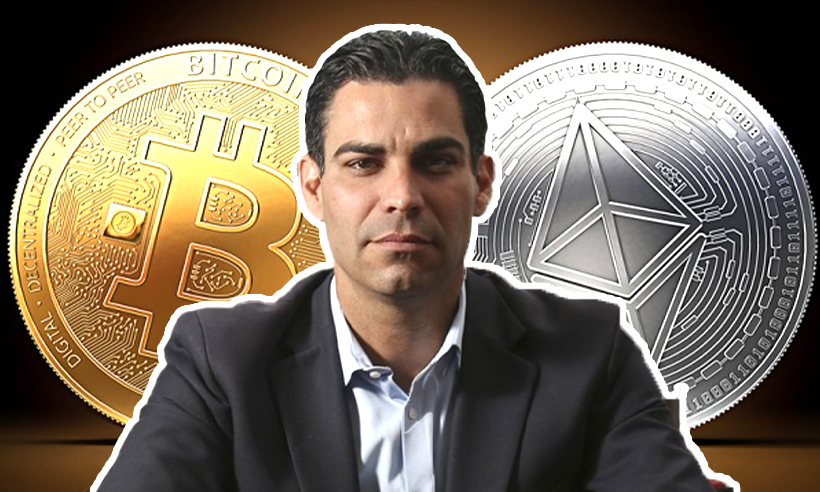 Miami's Mayor Reveals Owning Both Bitcoin and Ethereum