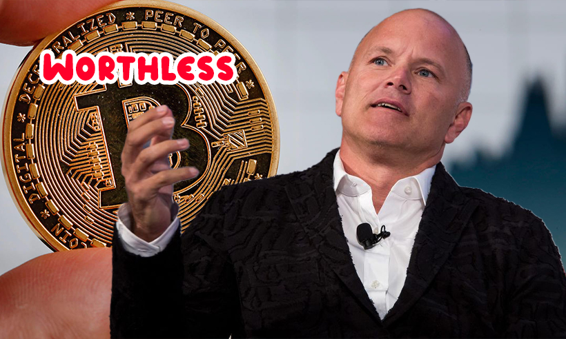 Mike Novogratz Says Value of Bitcoin is a Social Construct, Otherwise Worthless