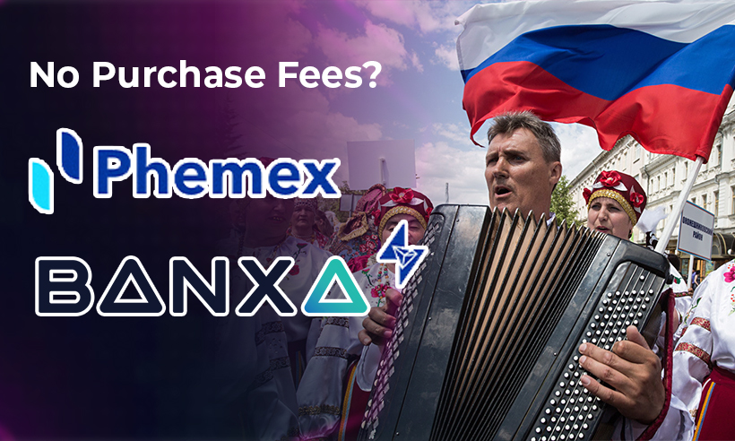 Phemex and Banxa to Waive Crypto Purchase Fee for Russia Day