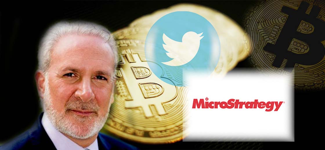 Peter Schiff Tweets the Best Time to Buy Bitcoin