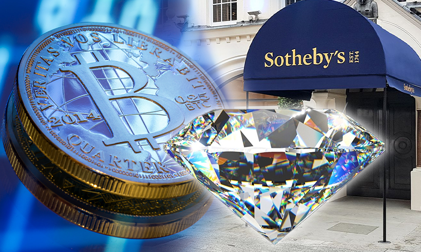 Sotheby's to Accept Crypto Payment For Rare Diamond Auction