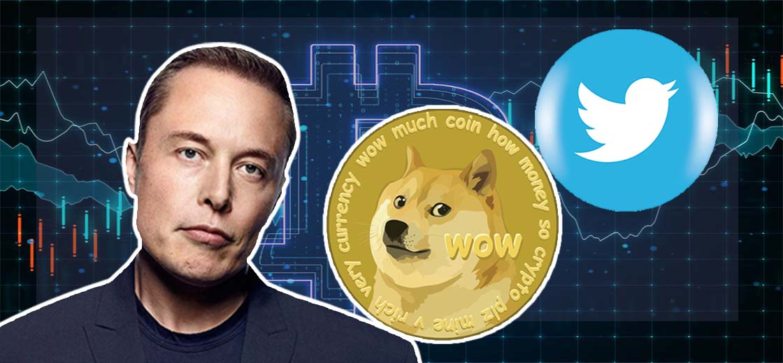 Elon Musk Shares Meaningless Tweets About DOGE Meme Dog