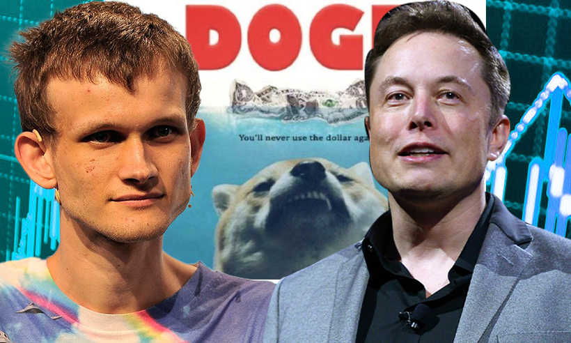 """Vitalik Buterin Responds to Elon Musk's """"He fears the Doge"""" Comment"""