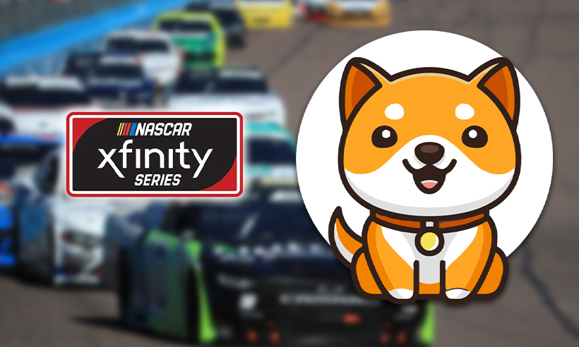 Baby Dogecoin Will Debut in the NASCAR Xfinity Series