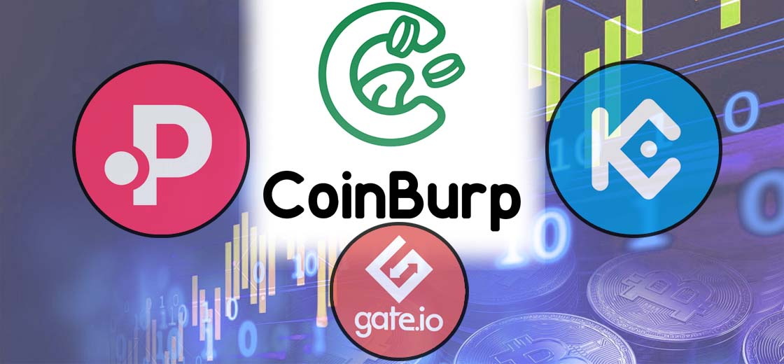 CoinBurp, Dubbed as the 'Coinbase for NFTs' Launches on KuCoin, Gate And Polkastarter