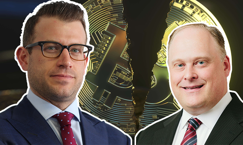 Craig Johnson and Bill Baruch Share Key Levels as Bitcoin Breaks Down Further