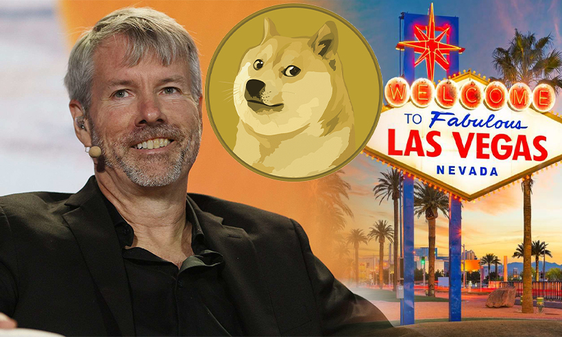 Michael Saylor Equates Dogecoin Investment to Gambling in Las Vegas