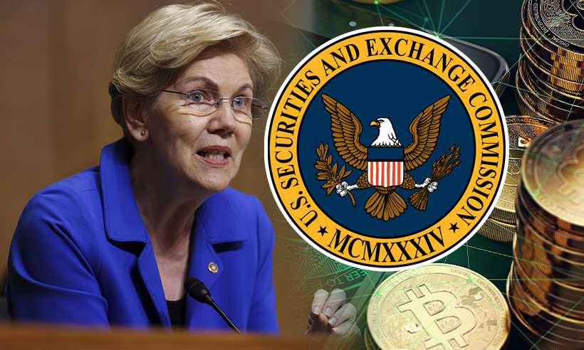Sen. Warren Wants Answers from SEC Chair on Proposed Crypto Exchange Restrictions