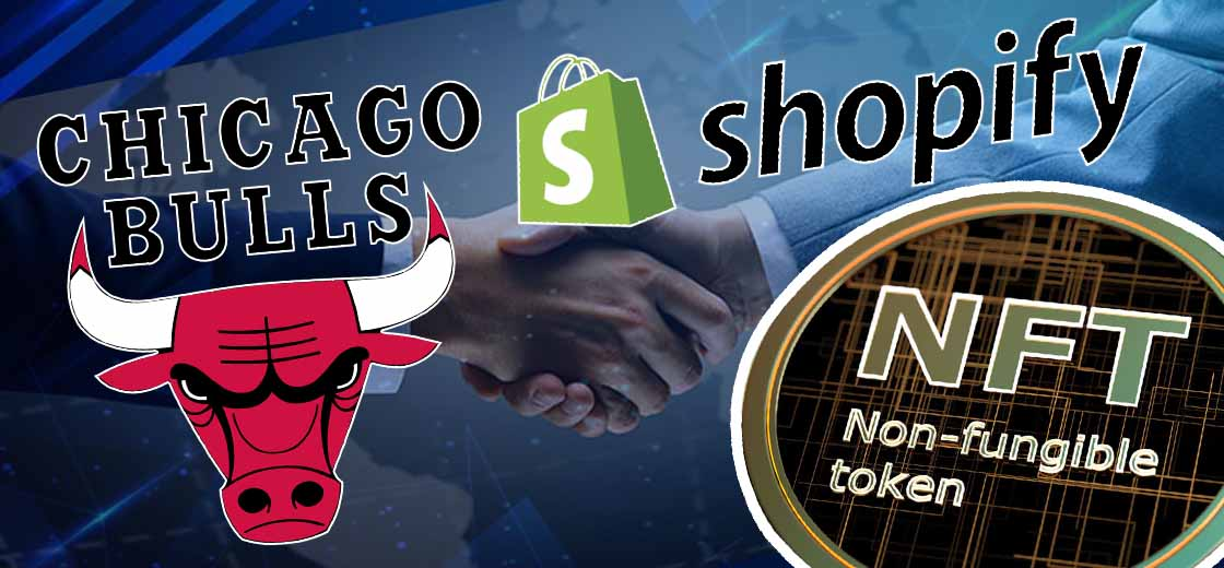 Chicago Bulls Partners With Shopify to Start NFT series