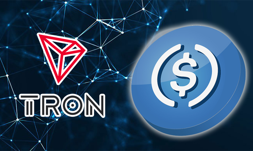 Tron (TRX) Blockchain Now Supports USDC, a Major Tether Competitor