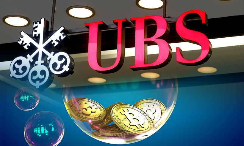 UBS Believes Regulatory Crackdowns Cause Crypto Markets to Collapse