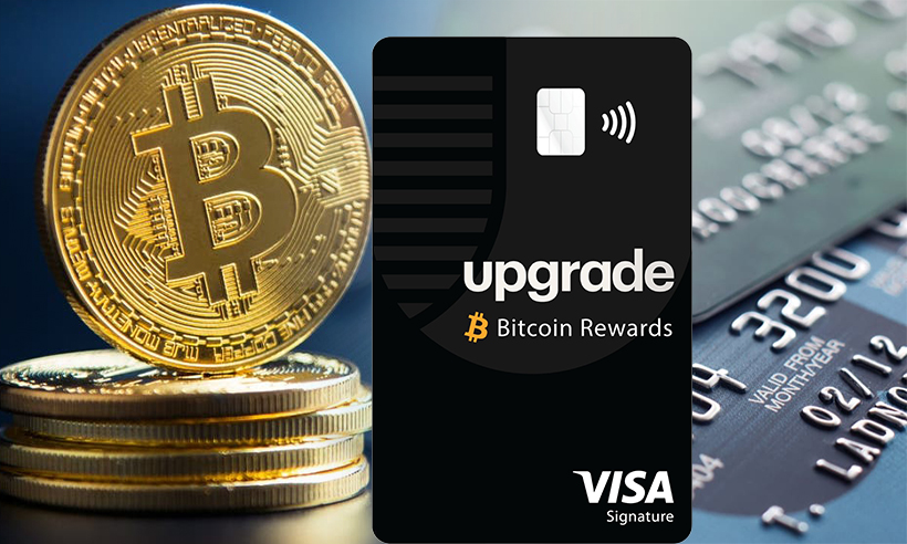 Upgrade Launches America's First Generally Available Bitcoin Rewards Card