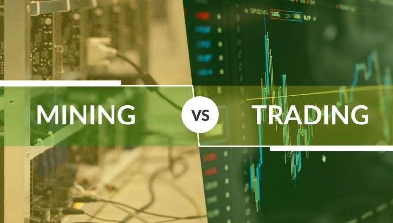 Is Bitcoin Mining Better than Trading?