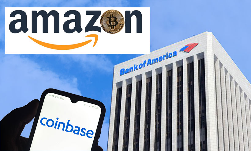 """Bank of America sees Coinbase as """"Amazon of Crypto Assets"""""""