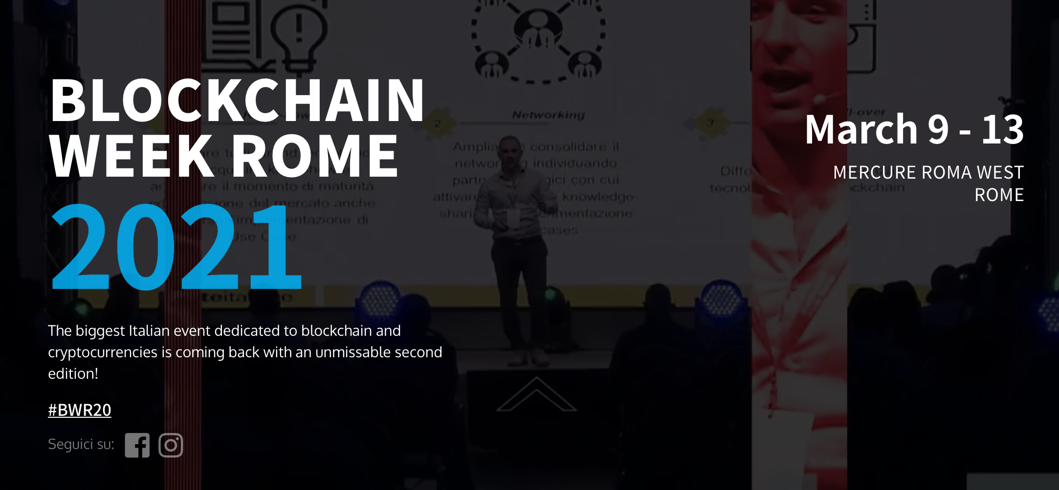 Blockchain Week Rome 2021