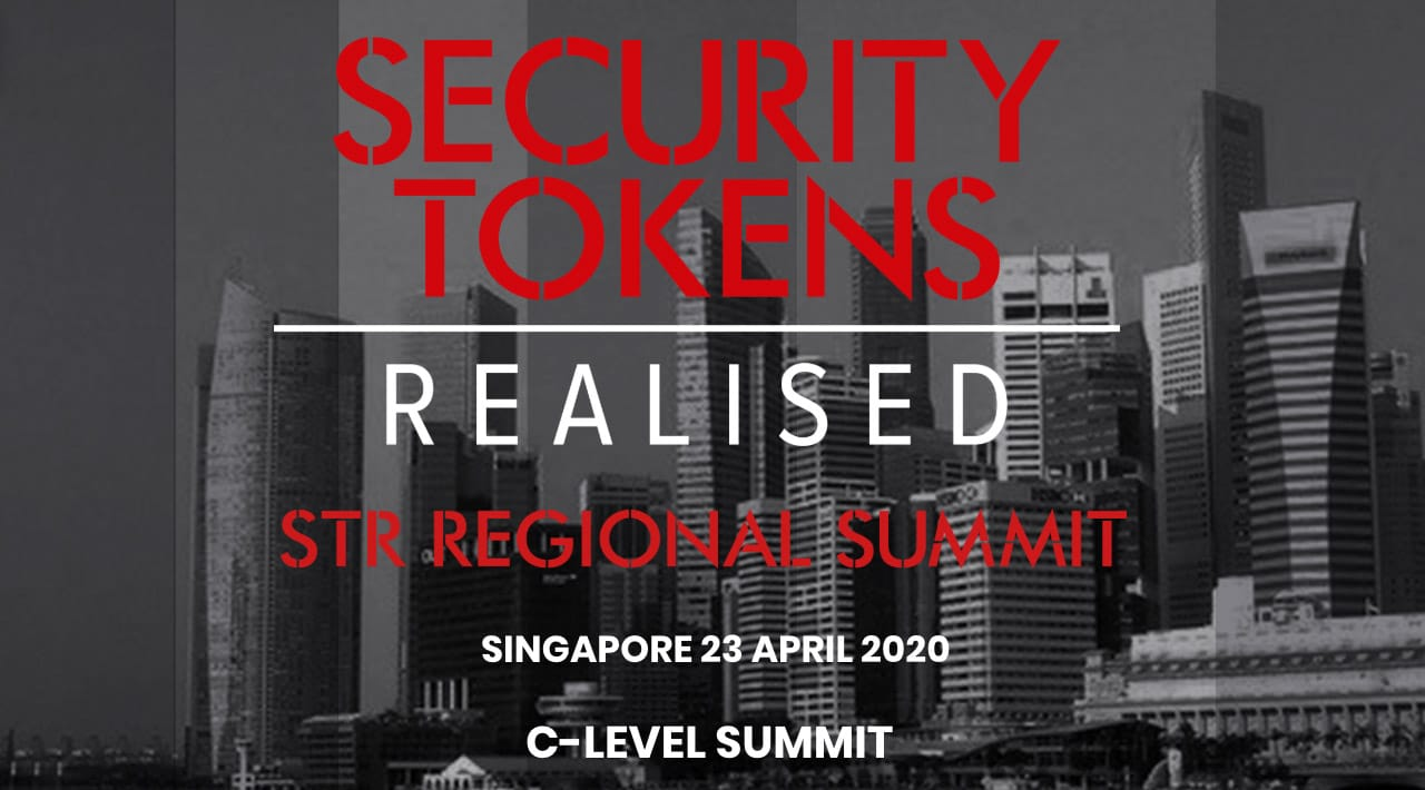Security Tokens Realised Singapore C Level Summit