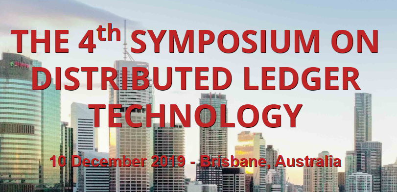 4th Symposium on Distributed Ledger Technology