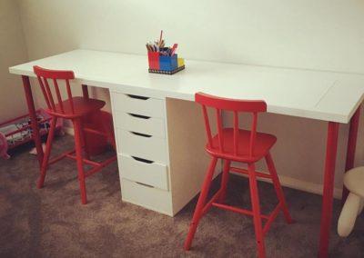 Organised kids desk
