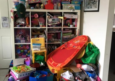 """1of 5 """"Before"""" photo of a kids playroom"""