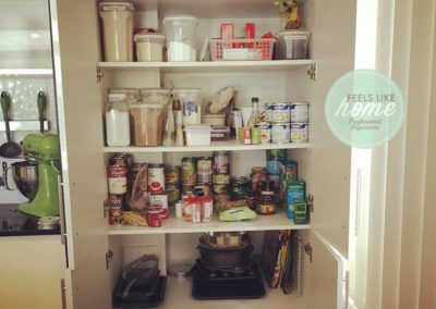 """After"" of this pantry"