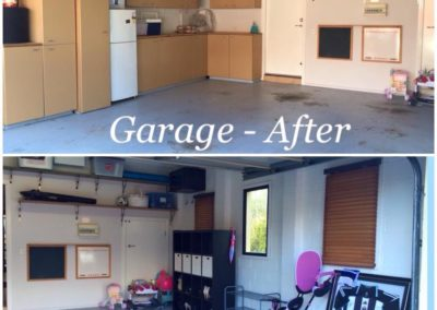 """""""After"""" of the Garage, part of which was converted into a play space. The bookcase also housed shoes :-)"""