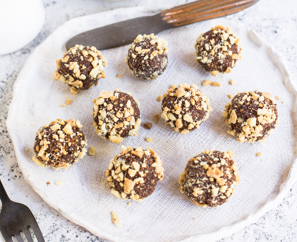 Snickers Protein Balls