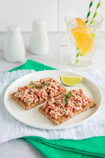 Lime, Chilli and Ginger Tuna Snack