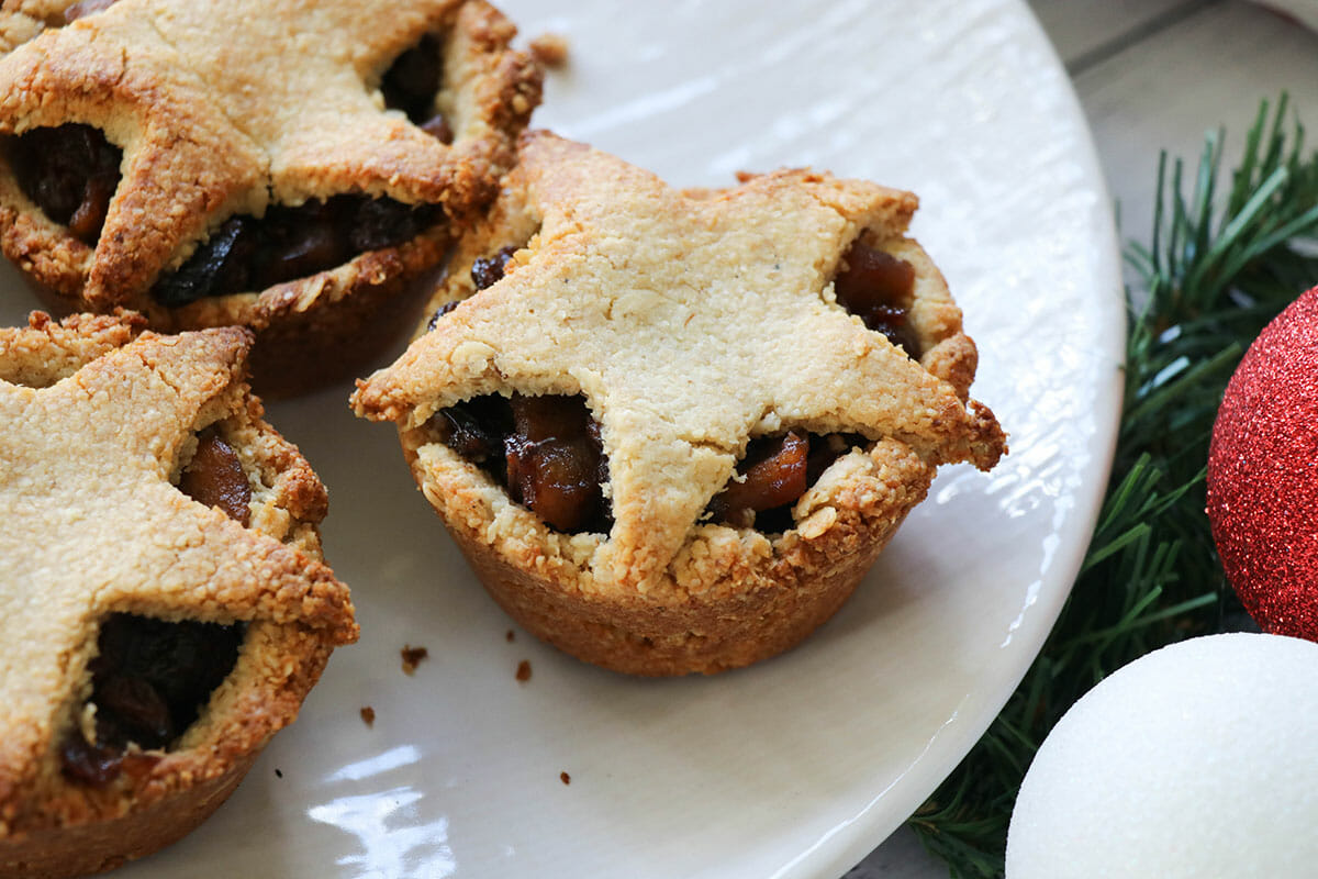 Refined Sugar Free Christmas Mince Pies