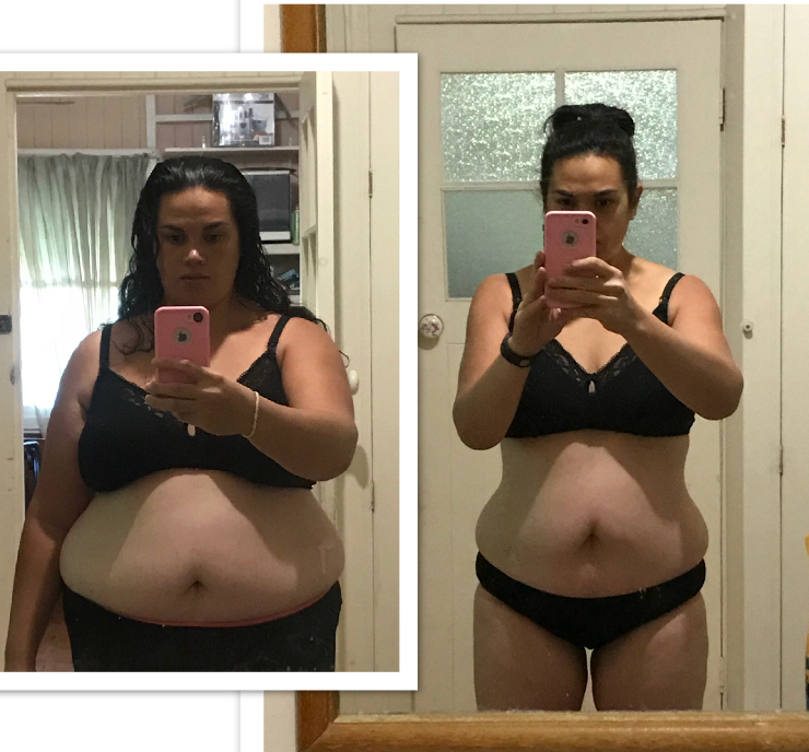 How this mum lost 47cm of belly fat after being obese most of her life