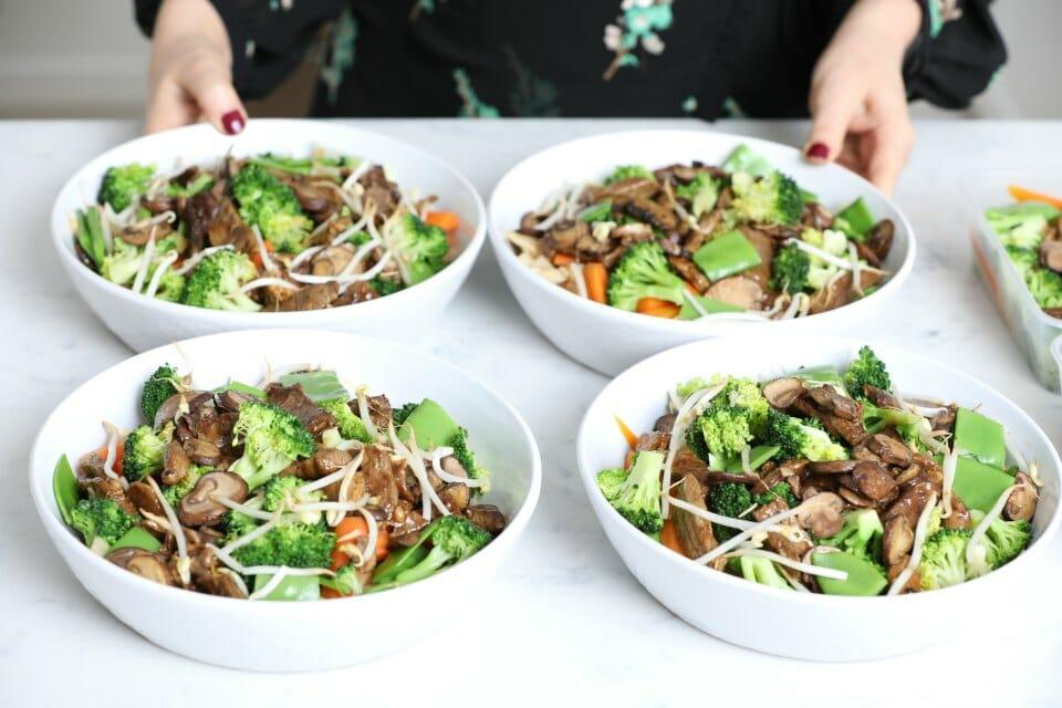 rhian Beef & Vegetable Stir Fry