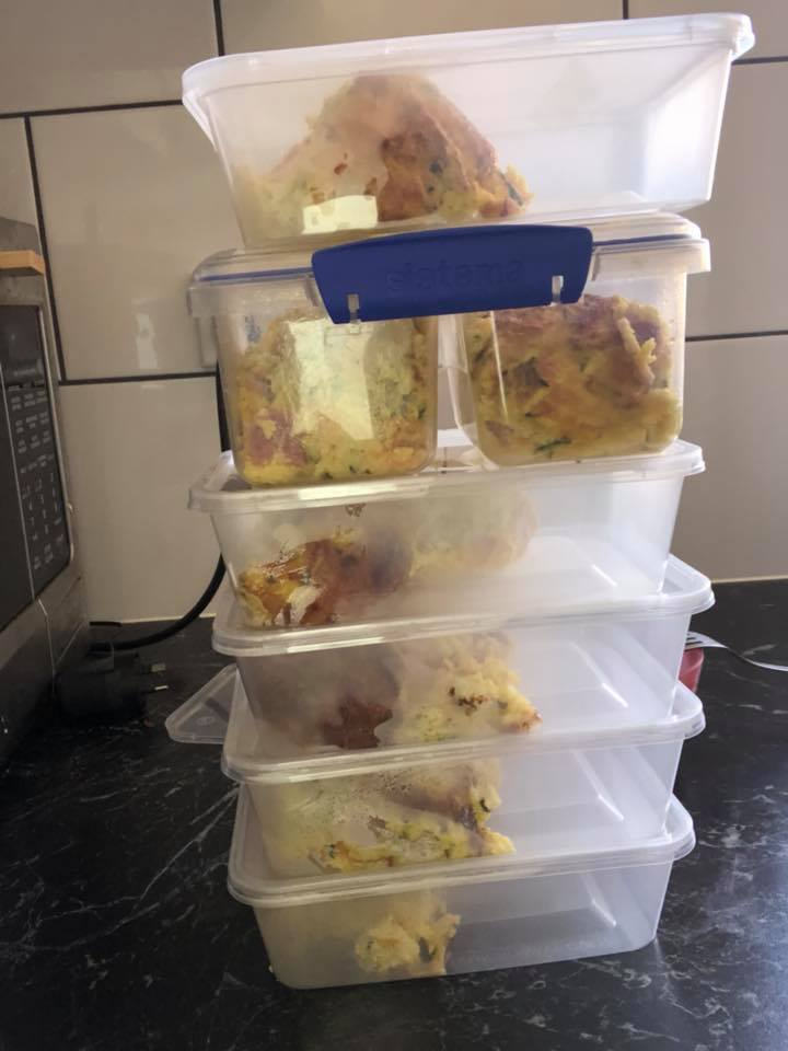 Andrea Atherton meal prep containers