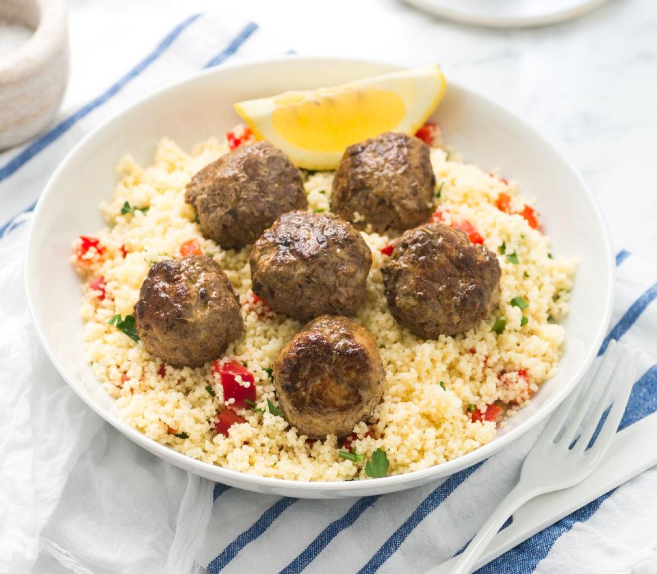 Moroccan Beef Rissoles