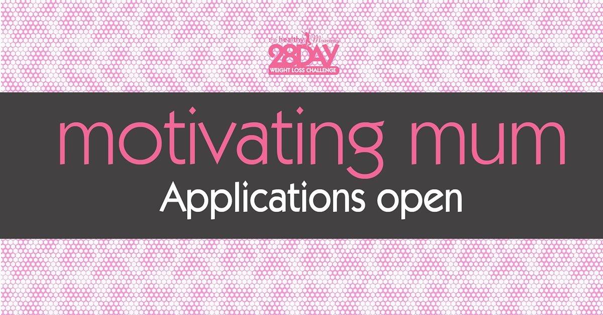 motivating mums applications open nov