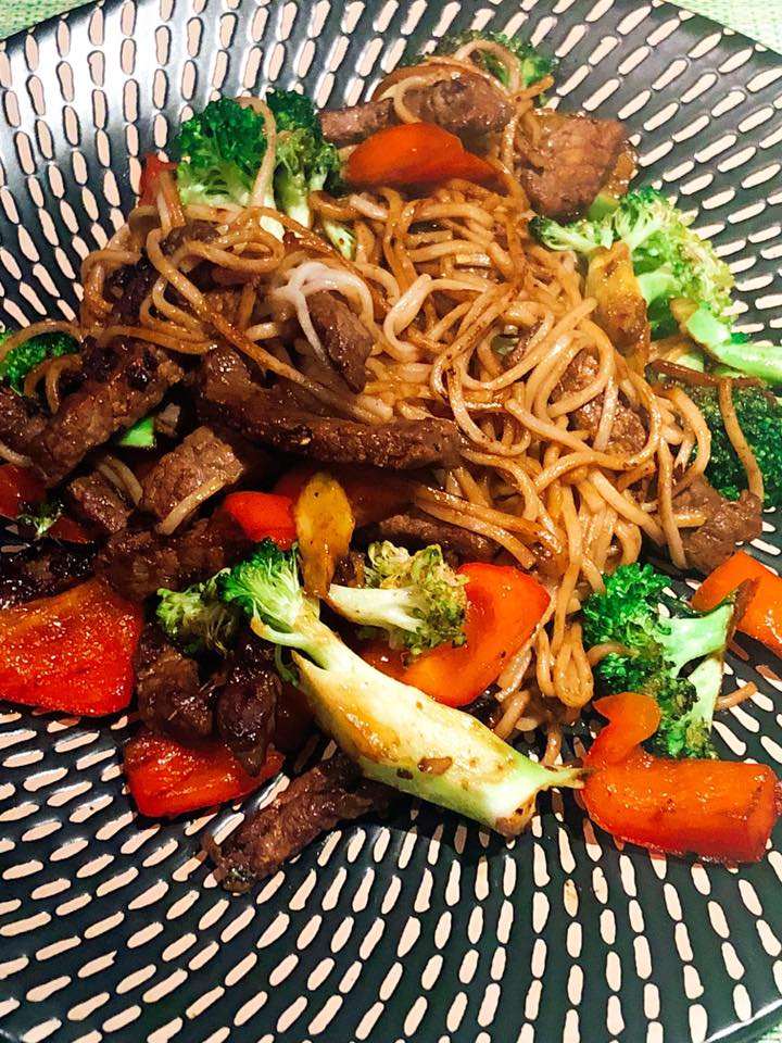 Beef & Broccoli Stir Fry with Soba Noodles