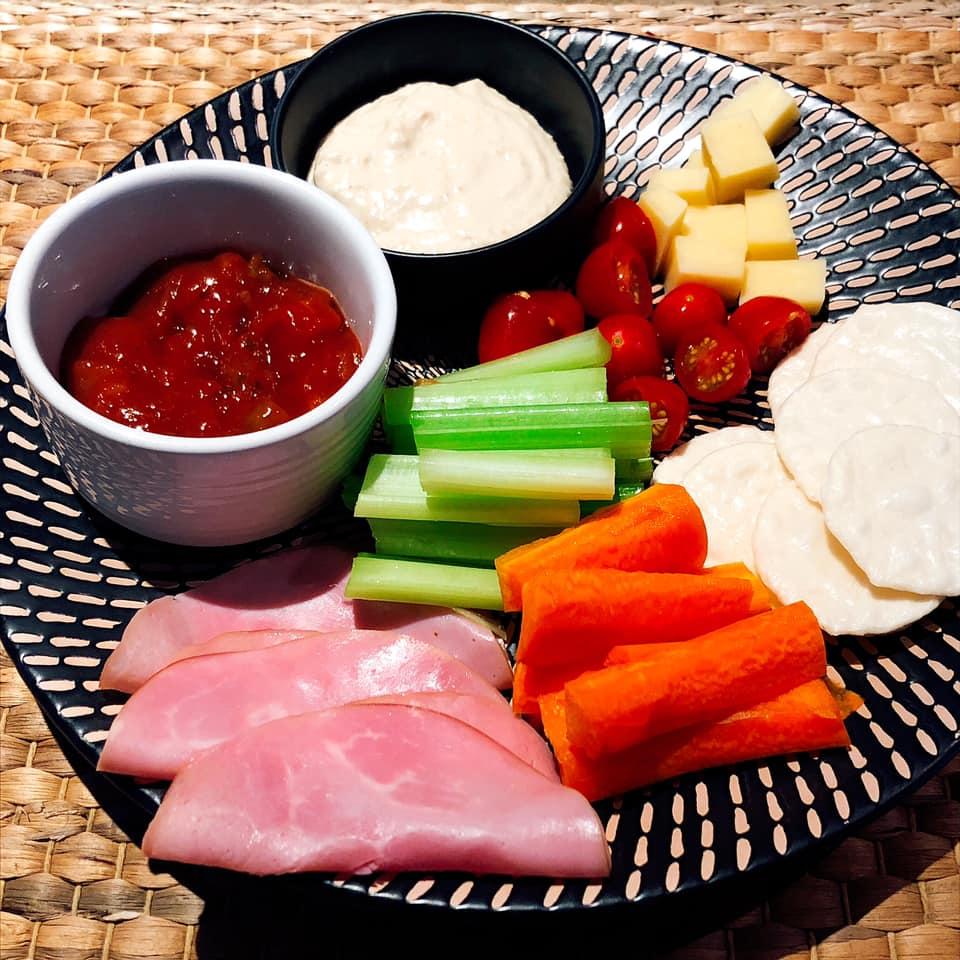 kerrie o brien simple snack plate