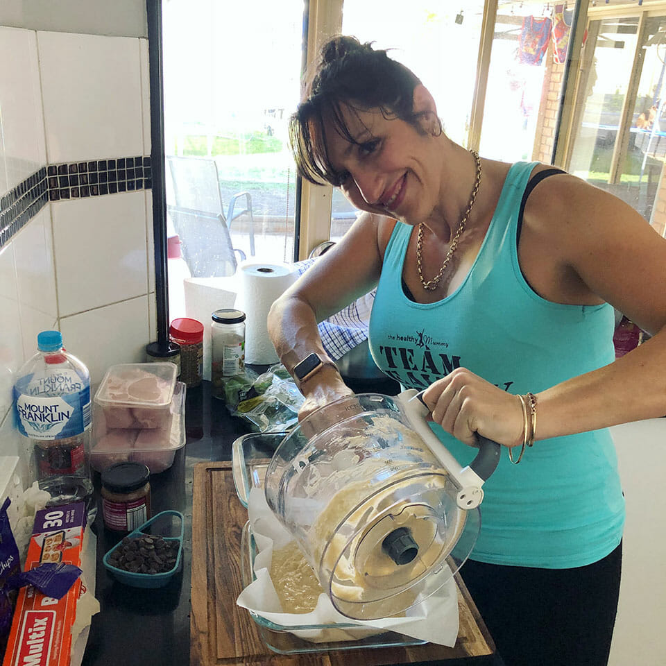 mel bell meal prep queens prepping time